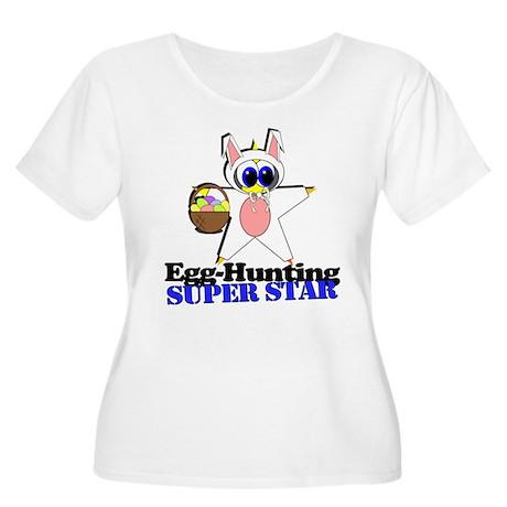 Easter Egg Hunt Women's Plus Size Scoop Neck T-Shi