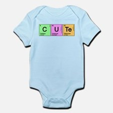 Cute Periodic Infant Bodysuit