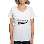 PARAMEDIC Women's V-Neck T-Shirt