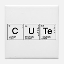 Cute Periodic Tile Coaster