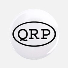 """QRP Oval 3.5"""" Button (100 pack)"""