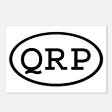 QRP Oval Postcards (Package of 8)