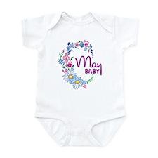 MAY BABY Infant Bodysuit