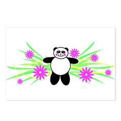 Pretty Panda Postcards (Package of 8)