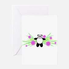 Pretty Panda Greeting Card