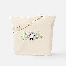 Pretty Panda Tote Bag