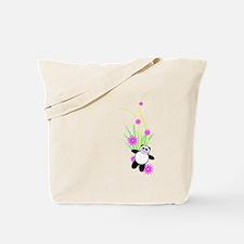 Unique Pop art panda Tote Bag
