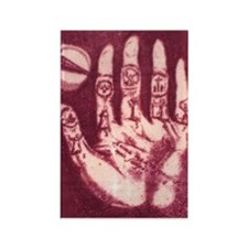 Palmistry Passion Rectangle Magnet