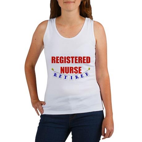 Retired Registered Nurse Women's Tank Top