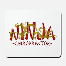 Deadly Ninja Chiropractor Mousepad