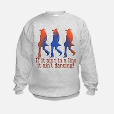 Line Dancing Sweatshirt
