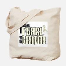 I Wear Pearl For My Grandma 6 Tote Bag