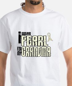 I Wear Pearl For My Grandma 6 Shirt