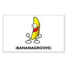 :bananagroove: Rectangle Decal