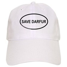 Save Darfur Oval Baseball Cap