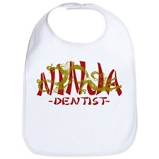 Dragon Ninja Dentist Bib