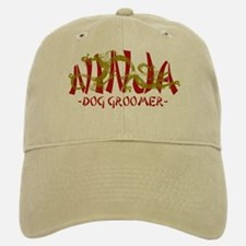 Dragon Ninja Dog Groomer Baseball Baseball Cap