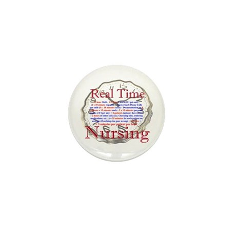 Nursing in Real Time Mini Button (100 pack)