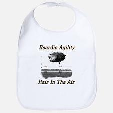 Beardie Agility-Hair in the Air Bib