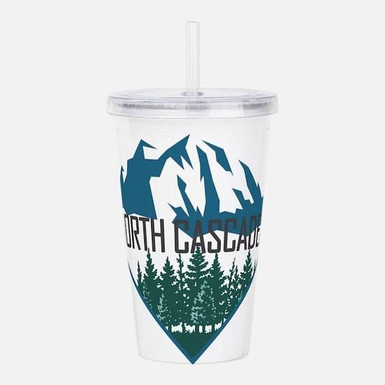 North Cascades - Washi Acrylic Double-wall Tumbler