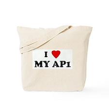I Love MY AP1 Tote Bag
