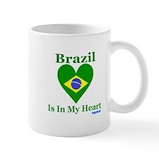 Brazil - Heart Mug