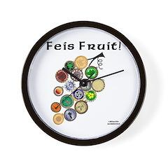 Feis Fruit - Wall Clock