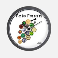 Feis Fruit - Wall Clock
