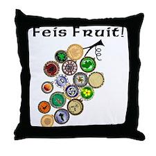 Feis Fruit - Throw Pillow