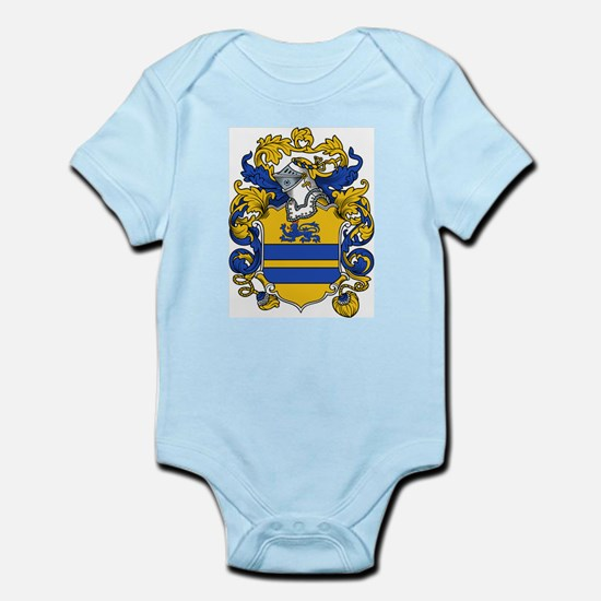 Gregory Family Crest Infant Creeper