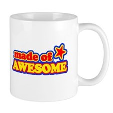 Made Of Awesome Small Mugs