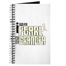 I Wear Pearl For My Grandpa 6 Journal