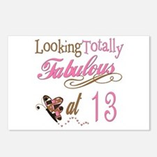 Fabulous 13th Postcards (Package of 8)