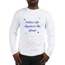 Celiacs Go Against The Grain Long Sleeve T-Shirt