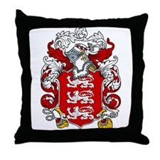 Griffiths Family Crest Throw Pillow