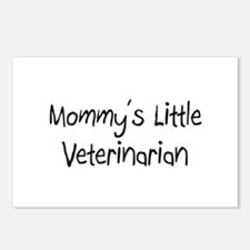 Mommy's Little Veterinarian Postcards (Package of