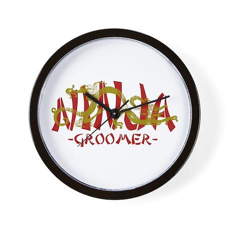 Dragon Ninja Groomer Wall Clock