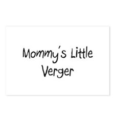 Mommy's Little Verger Postcards (Package of 8)