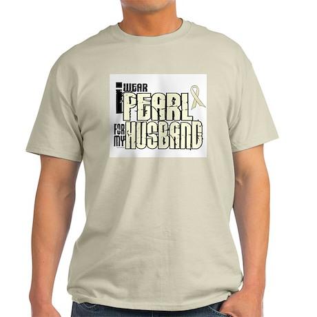 I Wear Pearl For My Husband 6 Light T-Shirt