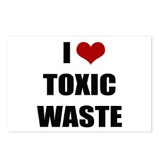 Real Genius - I Love Toxic Waste Postcards (Packag