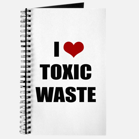 Real Genius - I Love Toxic Waste Journal