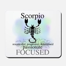 Scorpio the Scorpion Mousepad