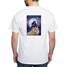 Night Elf Hunter in Moonlight Shirt