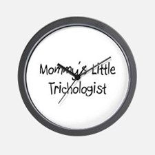 Mommy's Little Trichologist Wall Clock