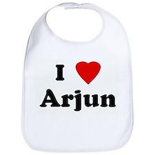I Love Arjun Bib