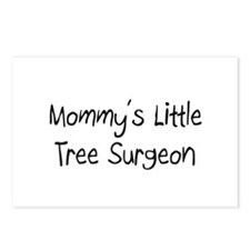 Mommy's Little Tree Surgeon Postcards (Package of