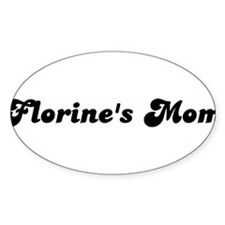 Florines mom Oval Decal