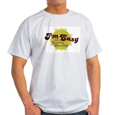 I'm Easy, Like Sunday Morning Ash Grey T-Shirt