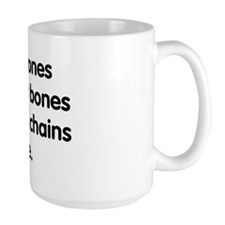 Sticks and stones... Mug