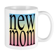 109. new mom [rainbow back] Mug